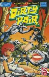 Dirty Pair #1 VF; Eclipse   save on shipping - details inside