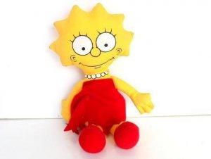 Muñeco PELUCHE: LISA SIMPSON / Los Simpsons (1990)