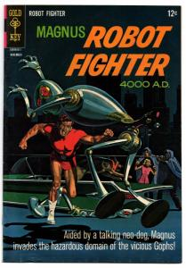 Magnus, Robot Fighter #16 (Nov 1966, Western Publishing)  - Fine+