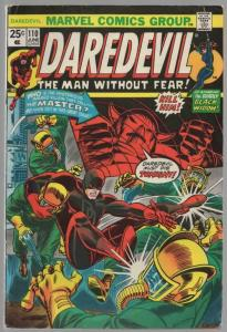 DAREDEVIL 110 VG June 1974