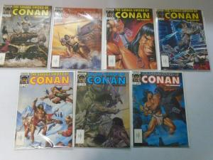 Savage Sword of Conan (1986-89) Lot 25 issues #127-161 7.0 FN