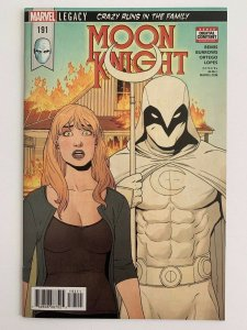 Moon Knight #191 (Marvel Comics 2018) NM