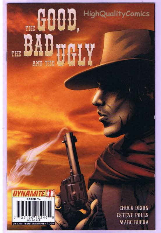 THE GOOD, BAD, and THE UGLY #1, NM-, Clint Eastwood, 2009, more in store