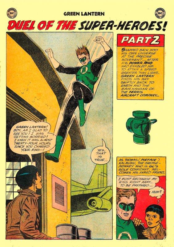 GREEN LANTERN #13 (June1962) 6.5 FN+ ★ FIRST GL & FLASH TEAM-UP!  Gil Kane!!