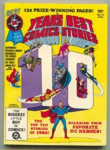 Best Of DC  #11 1981- YEAR'S BEST COMICS-SUPERMAN-BATMAN VF