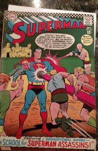 Superman #188 (DC,1966) Condition VG