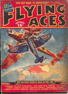 Flying Aces 12/1939-August Schomburg-Dick Knight-McWilliams-G-