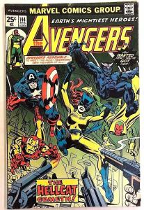 AVENGERS#144 FN/VF 1976 FIRST HELLCAT MARVEL BRONZE AGE COMICS