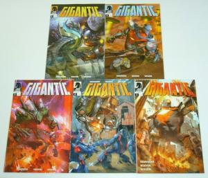 Gigantic #1-5 VF/NM complete series - rick remender - huge alien for kaiju fans