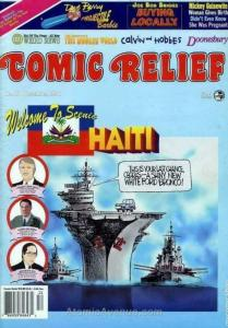 Comic Relief (magazine) #70 FN; Page One   save on shipping - details inside