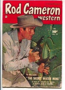 Rod Cameron Western #13 1951-Fawcett-B-Western film star photo covers-G