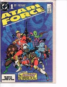 Dc Comics Atari Force #1 1st Issue (1984 series) Gerry Conway, García-López
