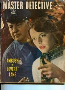 MASTER DETECTIVE-MARCH 1949-FR-ARSNIC-MURDER-HANDCUFFS-KIDNAPPING FR