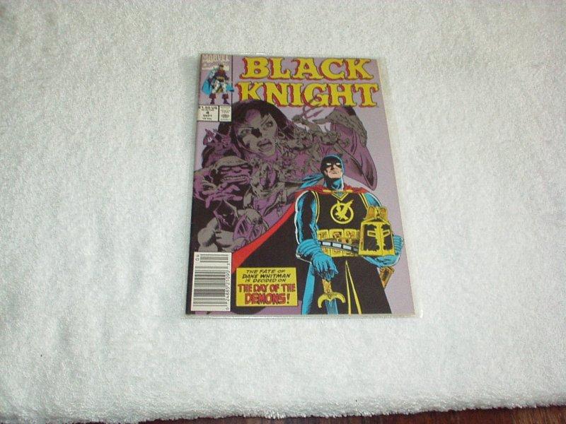 Black Knight #4 (1990)