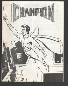 Champion #6 1969-Bob Cosgrove-Captain Marvel Jr cover-John Carter-Best Of Bar...