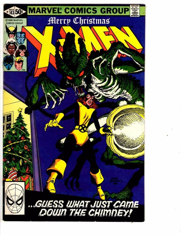 (Uncanny) X-Men # 143 VF/NM Marvel Comic Book Wolverine Cyclops Colossus J149