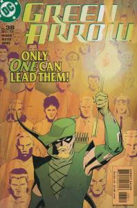 Green Arrow (2nd Series) #38 VF/NM; DC   save on shipping - details inside