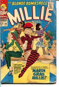 Millie The Model #147 1967-Marvel-Mardi Gras Millie-fashion-paper dolls-VG+