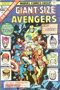 Giant-Size Avengers (1974 series) #5, Fine- (Stock photo)