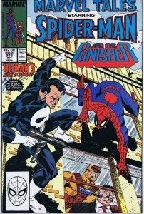 Marvel Tales #216 ORIGINAL Vintage 1988 Marvel Comic Book Spider-Man Punisher
