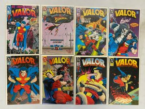 Valor set from:#1-23 all 23 different books average 8.5 VF+ (1992 to 1994)