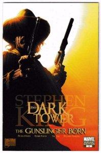 STEPHEN KING DARK TOWER GUNSLINGER BORN #1, NM-, Variant, 2007, more SK in store