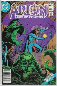 Arion, Lord of Atlantis   #11  VG