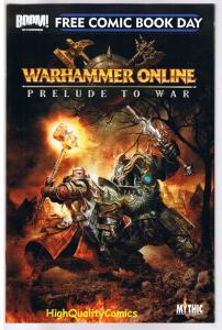 WARHAMMER - PRELUDE TO WAR, FCBD, Promo, 2009, NM, more FCBD in store