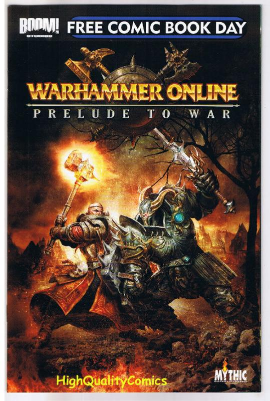 WARHAMMER - PRELUDE TO WAR, FCBD, Promo, 2009, NM, more FCBD in store