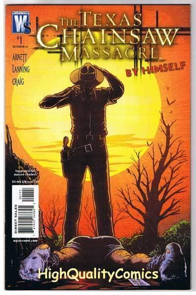 TEXAS CHAINSAW MASSACRE : Hoyt, By Himself #1, 2007, VF+, more Horror in store