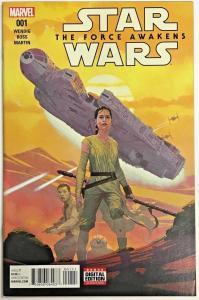 STAR WARS THE FORCE AWAKENS#1 VF/NM 2016 MARVEL COMICS