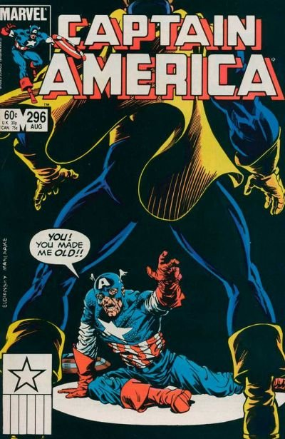 Captain America #296 (ungraded) stock photo ID#B-1