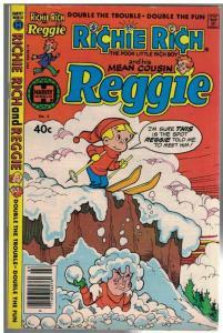 RICHIE RICH & HIS MEAN COUSIN REGGIE  3 VG+ Jan. 1980