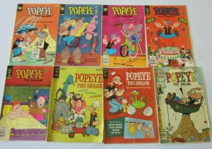 Popeye comic lot 22 different 4.0 VG
