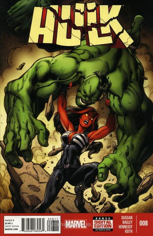 Hulk (5th Series) #8 VF; Marvel | save on shipping - details inside
