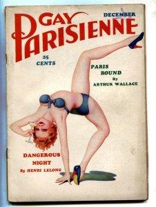 Gay Parisienne Pulp December 1936- Paris Bound- missing photos