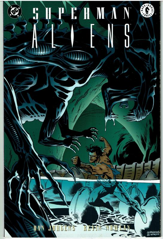 Superman Aliens #3, 9.0 or better