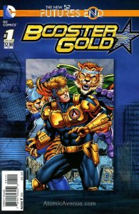 Booster Gold: Futures End #1A VF/NM; DC   save on shipping - details inside