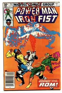 Power Man and Iron Fist #73-1981-ROM The Spaceknight issue-Comic Book