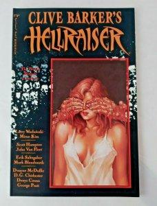 CLIVE BARKERS HELLRAISER BOOK #9 EPIC COMICS 1991 VF NM