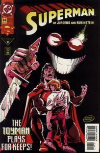 SUPERMAN (1987 DC) #84