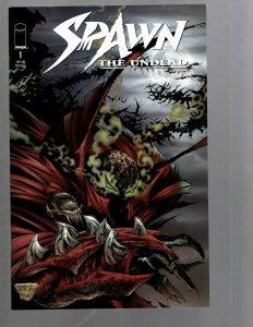 13 Comics Spawn The Undead #1 2 4 6 7 8 9 Dark Ages 1 3 4 Blood Feud 1 2 3 EK18