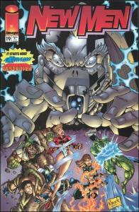 Image NEWMEN (1994 Series) #19 NM