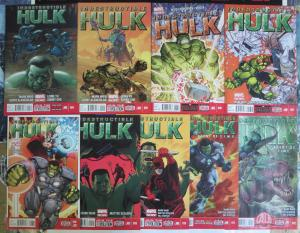 Indestructible Hulk (Marvel Now! 2013) #4-12 Lot Incredible Secret Agent Banner!