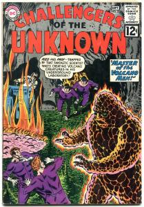 CHALLENGERS OF THE UNKNOWN #27 1962-DC COMICS-SCI FI VG