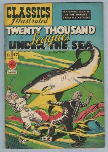 Classics Illustrated 47 (original) May 1948 FI- (5.5)