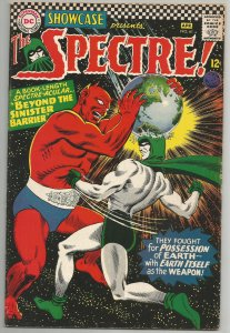 Showcase #61 - Very Fine- 7.5 or Better - Early Silver Age Spectre (1966)
