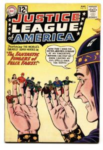 JUSTICE LEAGUE OF AMERICA #10-SUPERMAN-BATMAN-FLASH-WONDER WOMAN-1962 FN