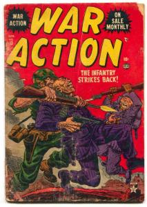 War Action #13 1953-Atlas-kill the commies-a-bomb panel FAIR