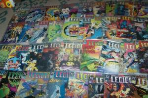 L.E.G.I.O.N. COMPLETE FULL RUN # 1 THRU 48+ #52-70+ANNUALS 1989 DC COMICS